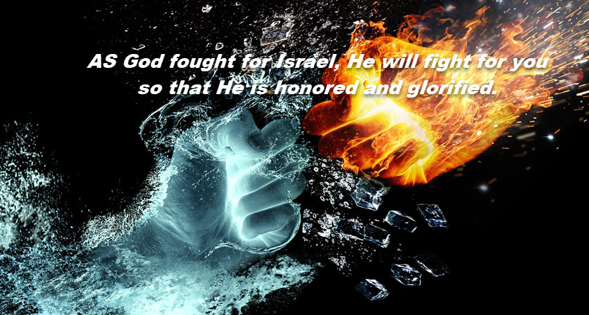 Joshua 10 God will fight for you2a